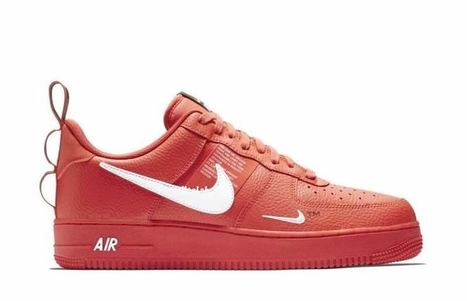 Nike Air Force 1 Nba Low University Red Black
