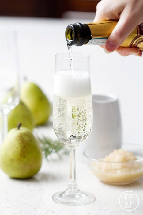 Rosemary Pear Sparkler | Food Fashion and Fun | Passion for Cooking | Scoop.it