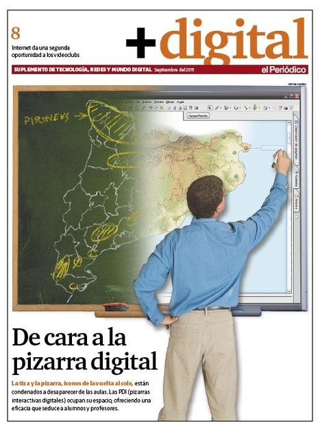 +Digital, de cara a la pizarra digital | didac-TIC-a | Scoop.it