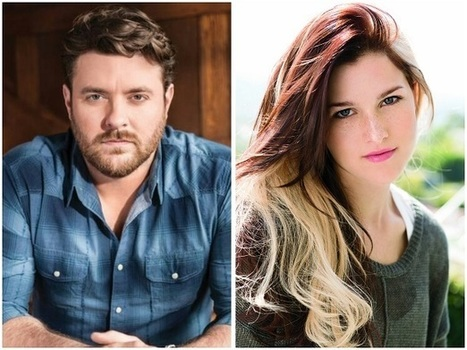 Chris Young and Cassadee Pope Talk Football | Country Music Today | Scoop.it