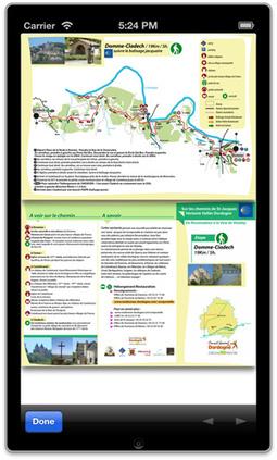Les randonnées pédestres d'Aquitaine ont leur appli !   Actualités Touristiques   Scoop.it
