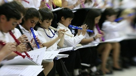 Creative Ways to Bring Music to Students — Every Day! | Music Education | Scoop.it