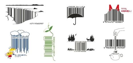Les codes-barres insolites et créatifs de l'agence japonaise D-Barcode | artcode | Scoop.it