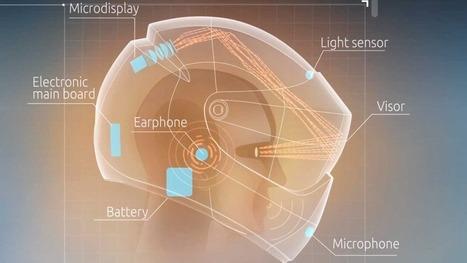 A Motorcyclist's Dream: Google Glass in Helmet Form   Cyborgs_Transhumanism   Scoop.it