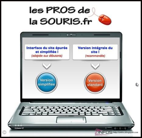Les pros de la souris - un excellent site pour les débutants en informatique | Time to Learn | Scoop.it