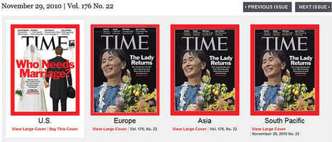 Daily Kos :: STUNNING: Comparing U.S. & World Covers for TIME Magazine | The Globe is Our Classroom | Scoop.it