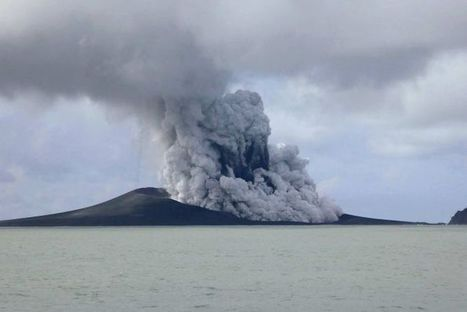 Tonga volcanic eruption creates new island | Geography, History, SOSE | Scoop.it