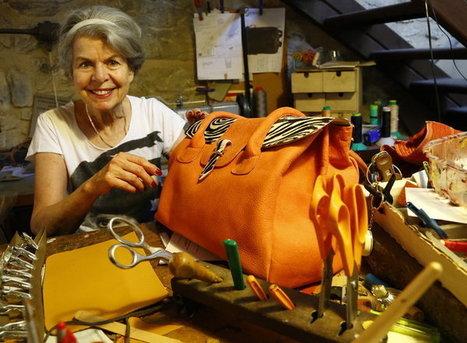 Vaucluse : autodidacte, elle a le cuir dans la peau | Métiers, emplois et formations dans la filière cuir | Scoop.it