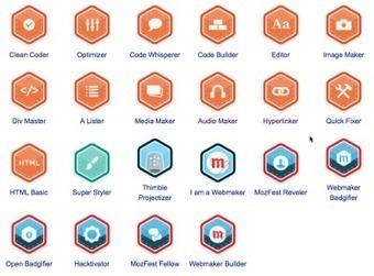 Open Badges & Webmaker Badges in 2013: an ongoing ... - Persona   Digital Badges   Scoop.it