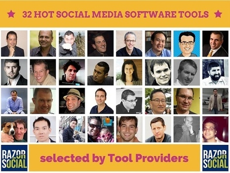 32 Tools providers discuss their favorite social media software | Salesbot.com.au | Scoop.it