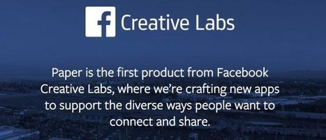 Paper : La nouvelle app Facebook dédiée à la curation   - Le Cube Vert- Le Cube Vert     Stratégies de communication digitale   Scoop.it