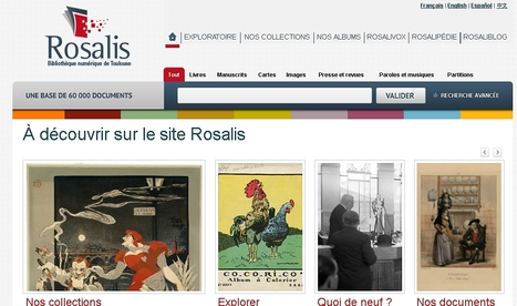 Bienvenue à Rosalis | Bibliothèque de Toulouse | Scoop.it