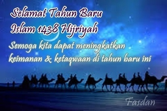 Kata Kata Ucapan Selamat Tahun Baru Islam 1438