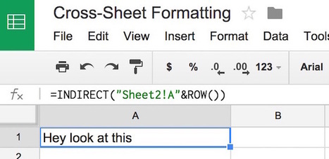 Google Apps: Applying Conditional Formatting Across Sheets -- THE Journal | Educational Technology Advancements | Scoop.it
