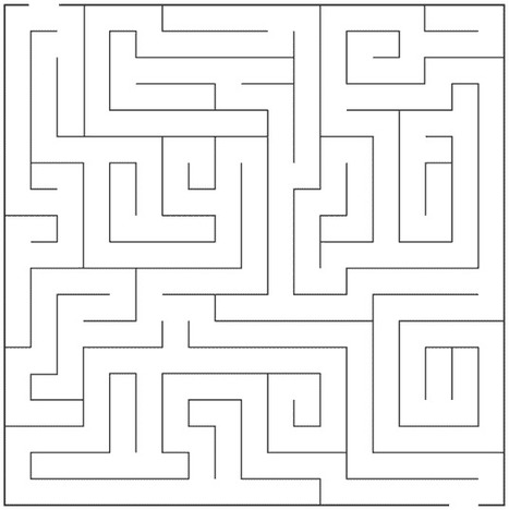how to draw a maze' in Drawing and Painting Tutorials