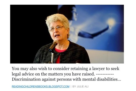 Discrimination against persons with mental disabilities | Family-Centred Care Practice | Scoop.it