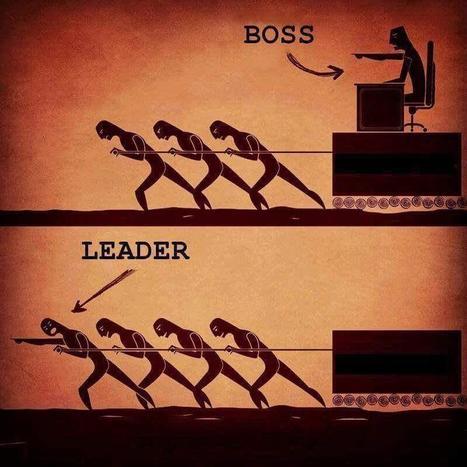 Boss v Leader | Amoria Bond:  Consultants in Recruitment | Scoop.it