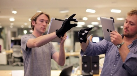 MIT Students Create The Future With An iPad And A Glove | omnia mea mecum fero | Scoop.it