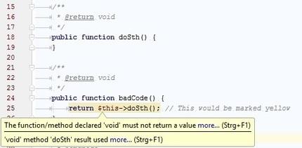 Return null vs return void | CakePHP Reporter | Scoop.it