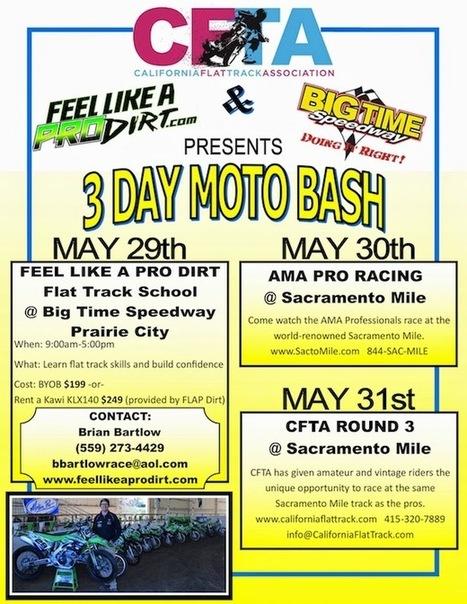 Race the Sacramento Mile! | California Flat Track Association (CFTA) | Scoop.it