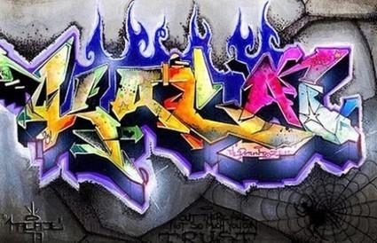 3d Graffiti Graffiti Alphabet Letter Itiffa