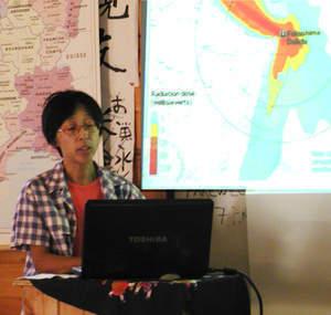 [Eng] Une locale marche pour Fukushima | The Herald Gazette | Japon : séisme, tsunami & conséquences | Scoop.it