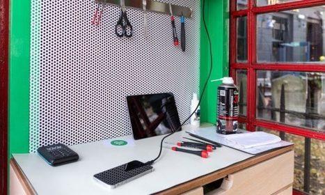 Lovefonbox redonne un usage aux mythiques cabines téléphoniques londoniennes   Lumières de la Ville   Animer la ville   Scoop.it