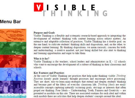 Visible Thinking | Educating teachers in Esl-Efl | Scoop.it