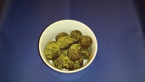 Truffes amères enrobées de thé vert Matcha - lavenir.net | La cuisine du thé, la boisson du thé | Scoop.it