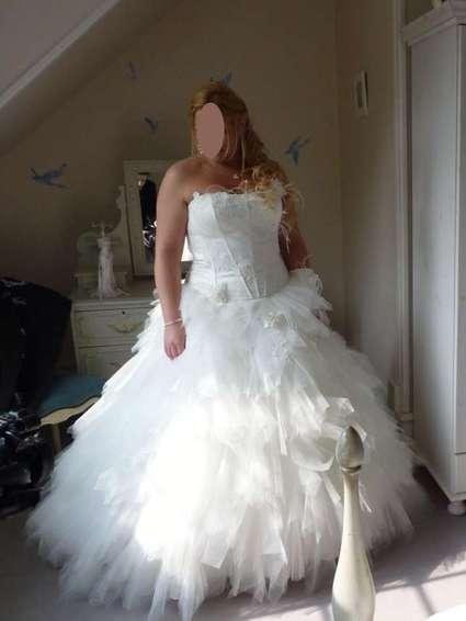 Robe de mariee en 46