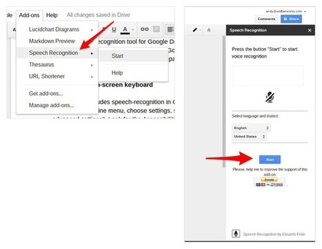 speech recognition' in Using Google Drive in the classroom | Scoop it