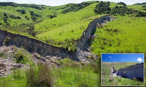 The great wall of New Zealand: Incredible aftermath of the 7.8 quake | Conformable Contacts | Scoop.it
