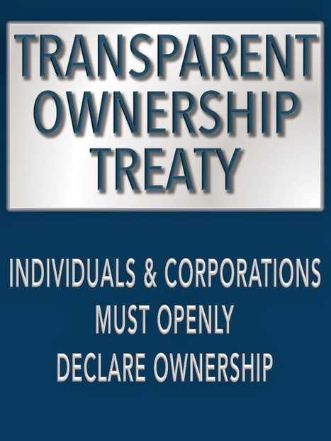 A Transparent Ownership Treaty? | The Transparent Society | Scoop.it