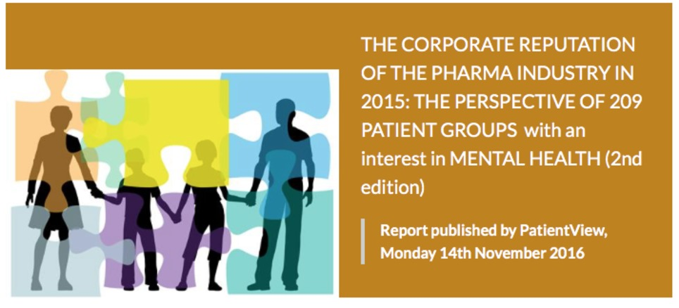 CORPORATE REPUTATION of PHARMA 2015 | New pharma | Scoop.it