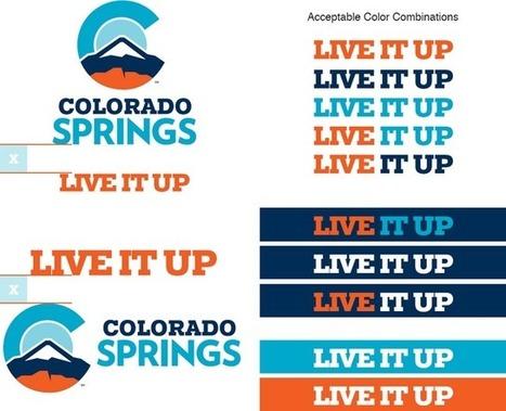 New logo: Colorado Springs   Corporate Identity   Scoop.it