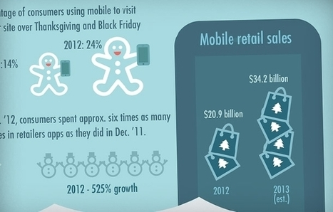 Mobile Commerce Has Completely Exploded (Infographic) | mobile business | Scoop.it
