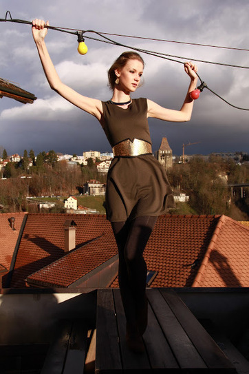 The Tall Blonde (Swiss Fashion blog by Oriana Mikulski): Over the roofs | Swiss fashion bloggers | Scoop.it