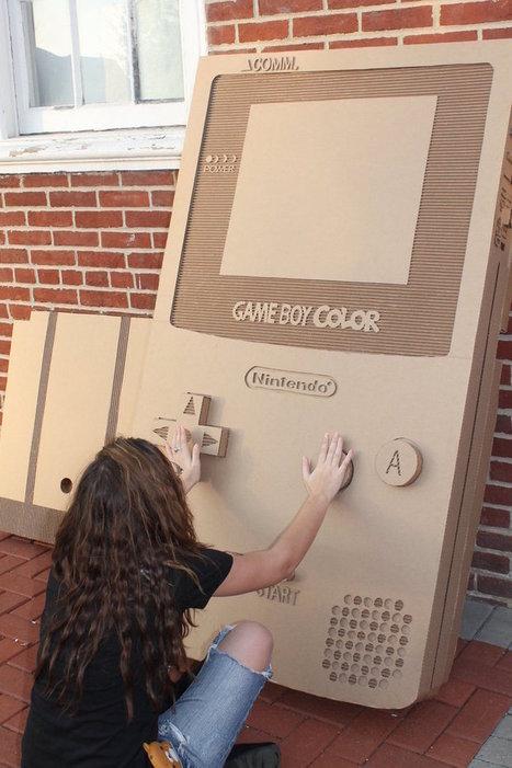 MaboroshiTira – Cardboard Game Boy | All Geeks | Scoop.it
