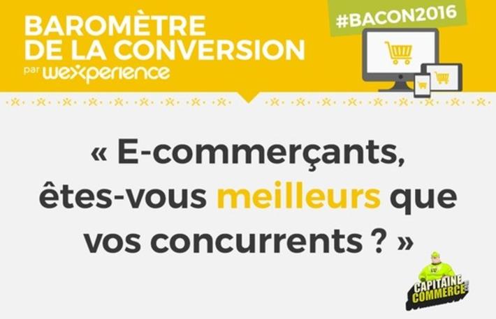 [Infographie] Les chiffres clés du Baromètre de la conversion 2016 - Capitaine Commerce | Solutions locales | Scoop.it