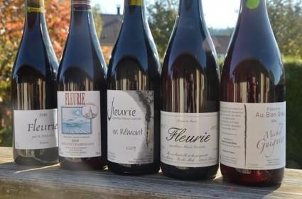 VDV#40: dites-le avec des Fleurie... : Le blog d'Olif | Vendredis du Vin | Scoop.it