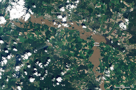 Overstroomde Elbe in Wittenberg | aardrijkskunde | Scoop.it