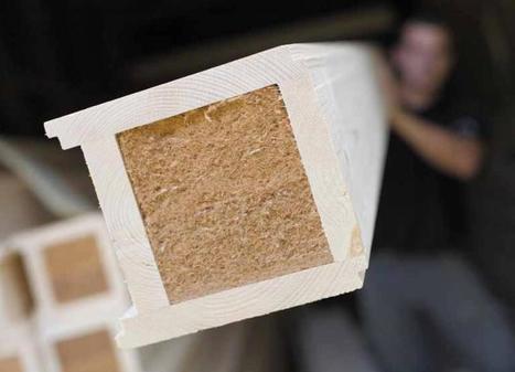 Elément porteur en bois manuportable.   Ageka les matériaux pour la construction bois.   Scoop.it
