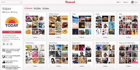 » TV brands beginning to appear on Pinterest   SocialTVNews   Scoop.it