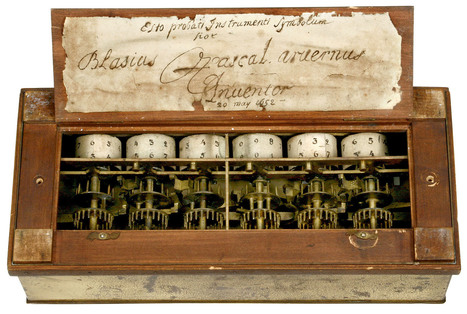 Pascal's mechanical calculator - Pascal to Apple: The geekiest auction ever (pictures) | History 101 | Scoop.it