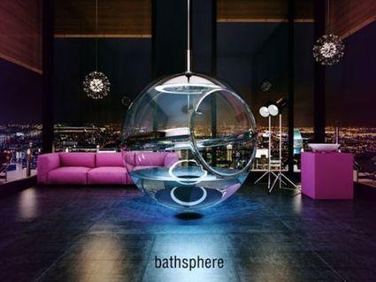 Quand la salle de bain devient une bulle - Tom's Guide | mobilier salle de bain | Scoop.it