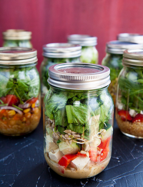 salad-in-a-jar 101 | Food: Thy True Medicine | Scoop.it