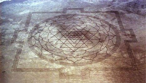 13 Mile Long Crop Circle In The Desert? Fractal Mandala Shape | UFOs! Evidence and Speculations | Scoop.it