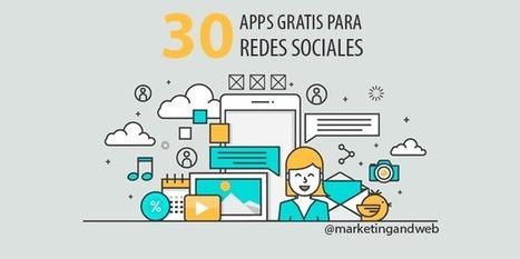 30 Mejores Apps Gratis para iPhone y Android para Redes Sociales | Farmacia Social Media | Scoop.it
