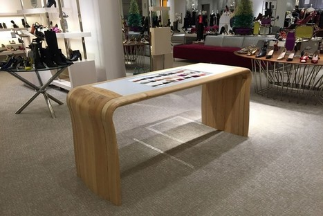 Neiman Marcus Integrates Interactive Tables for Unbriddled Selection - PSFK | Retail technology | Scoop.it
