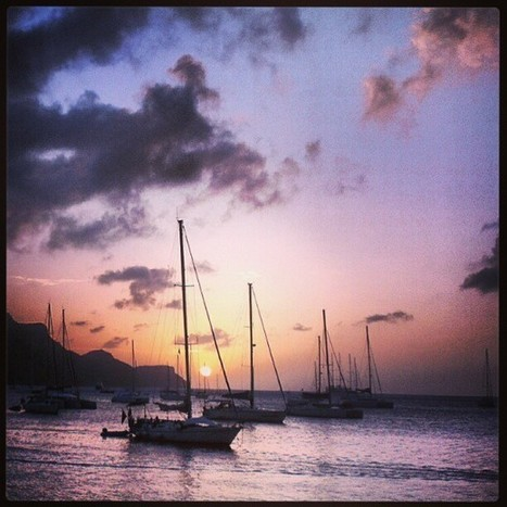 The sunset at Princess Margaret Beach. Adios, dear... | Bequia - All the Best! | Scoop.it